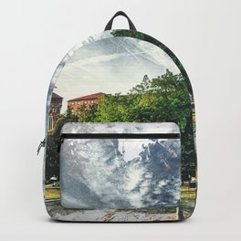 Cracow art 7 Wawel #cracow #krakow #city Backpack