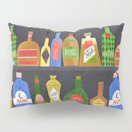 Bar Cart Art Pillow Sham