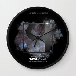 """Vaca - MP: """"Quarteto das Cordas"""" Wall Clock"""