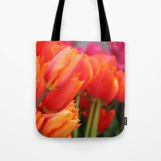 Cheery Tulips Tote Bag