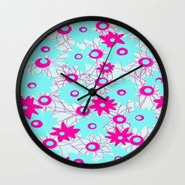 Poppin' Pink Wall Clock