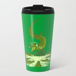breakdance crocodile Travel Mug
