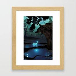 the bog Framed Art Print