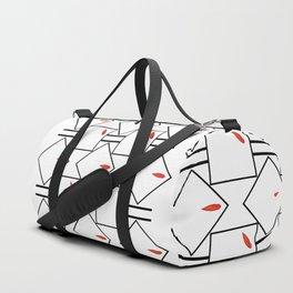 Floral Minimalism Duffle Bag