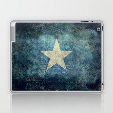 Flag of Somalia - Super Grunge version Laptop & iPad Skin