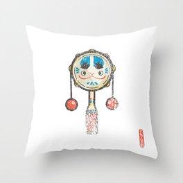 Den Den Daiko [Special Lucky Toy Box] Throw Pillow