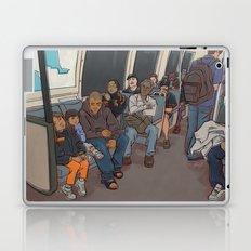 SUBWAY CROWD Laptop & iPad Skin