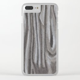 Fabric #7 Clear iPhone Case