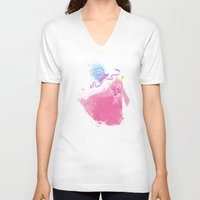 science V-neck T-shirts featuring Science! by Melissa Smith