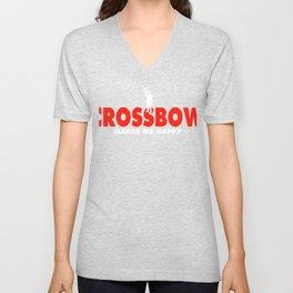 Crossbow Tshirt Unisex V-Neck