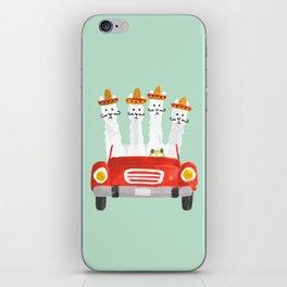The four amigos iPhone Skin