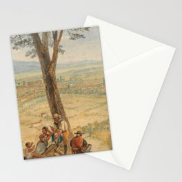 """J.M.W. Turner """"Rome from Monte Mario"""" Stationery Cards"""