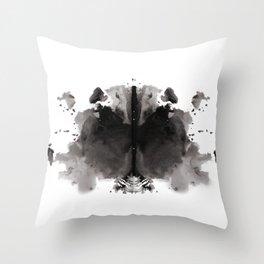 Rorschach test 4 Throw Pillow