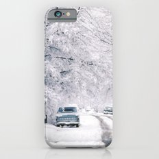 Winter on Beechwood Lane iPhone 6s Slim Case