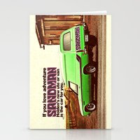 sandman Stationery Cards featuring Holden Sandman Adventure by Blulime