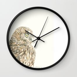 Ruru Owl - the Morepork Wall Clock