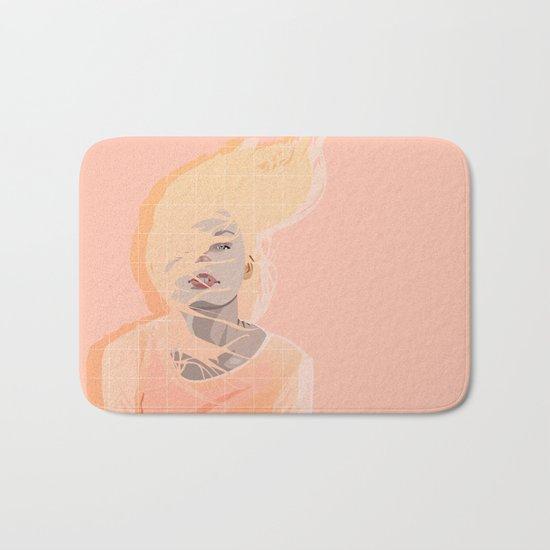 Peach Bath Mat