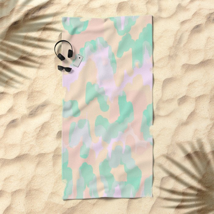 Tamsin - Soft Abstract Beach Towel
