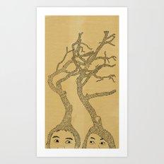 our mind Art Print