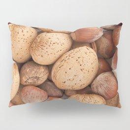 Hazelnuts and almonds Pillow Sham