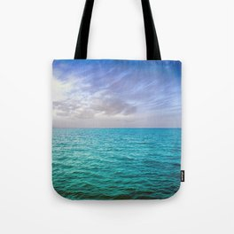 Caribbean Sea Tote Bag