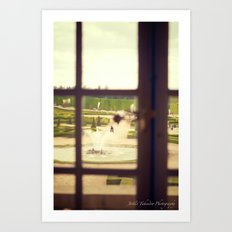 Windows of Versailles I Art Print