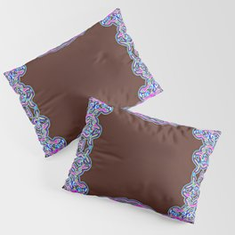 In The Pink Colorfoil Bandanna Pillow Sham