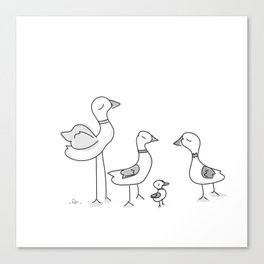 Duck! Canvas Print
