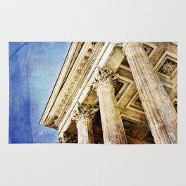 Ancient Roman Temple Rug