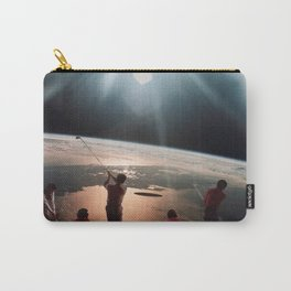 Golfers In Space Carry-All Pouch