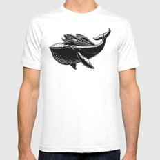 Ocean Hauler MEDIUM White Mens Fitted Tee