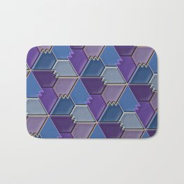 Blues & Purples Bath Mat