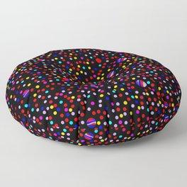 Colorful Rain 09 Floor Pillow
