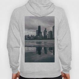 Chicago Black & White Hoody