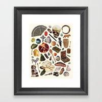 ARTIFACTS Framed Art Print