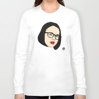ghost world Long Sleeve T-shirts featuring Ghost world by Bleachydrew