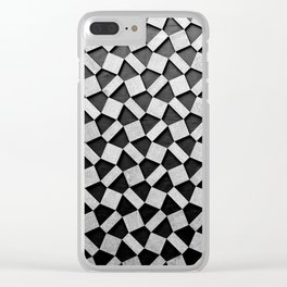 Defragmentation Clear iPhone Case
