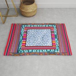 Peruvian Fabric Rug