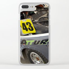 Ready for Action Clear iPhone Case