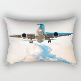 The Miracle of Flight Rectangular Pillow