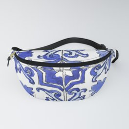 Blue and White Portuguese tile Fanny Pack