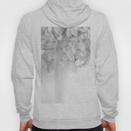 Hydrangea Still Life in Black and White #decor #society6 #buyart Hoody
