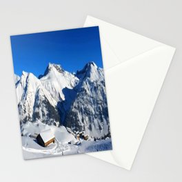 Winter Panorama in Austria Stationery Cards