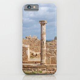 House of Theseus - Roman Ruins Cyprus iPhone Case