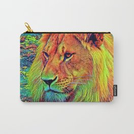 AnimalColor_Lion_004_by_JAMColors Carry-All Pouch