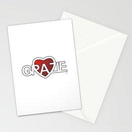GRAZIE DI CUORE 2 Stationery Cards