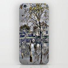 Reflex landscape iPhone & iPod Skin