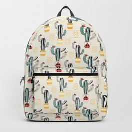 Cactus in a Pot small-scale Backpack