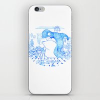 killer whale iPhone & iPod Skins featuring Killer Whale by Tayfun Sezer