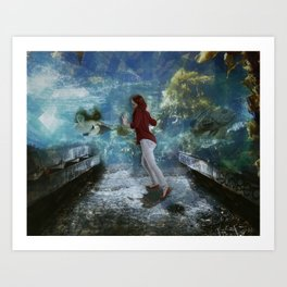 Gallery Urban Fantasy Art Print